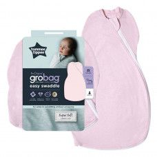TOMMEE TIPPEE GROBAG EASY SWADDLE 0-3M PINK MARL