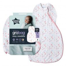 TOMMEE TIPPEE GROBAG EASY SWADDLE 0-3M PRETTY PETALS*