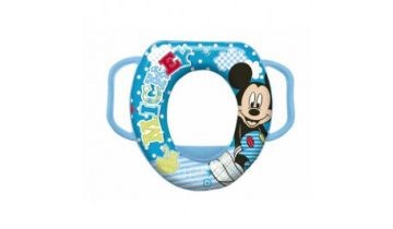 Mickey Mouse Padded Toilet Seat