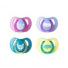 TOMMEE TIPPEE SOOTHER CHERRY DECORATED 6-18 MONTHS ASSORTED