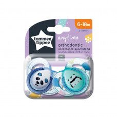 TOMMEE TIPPEE SOOTHER ANYTIME 6-18 MONTHS BOY