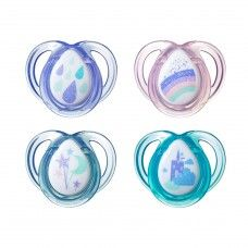 TOMMEE TIPPEE SOOTHER ANYTIME 0-6 MONTHS ASSORTED