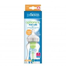 DR BROWN'S OPTIONS+ BOTTLE PP 270ML WIDE NECK X1