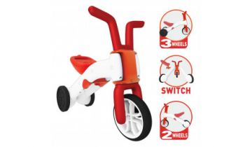 Bunzi 2-In-1 Balance Bike Red By Chillafish