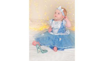 Cinderella Disney Princess Dress With Bloomers And Headband