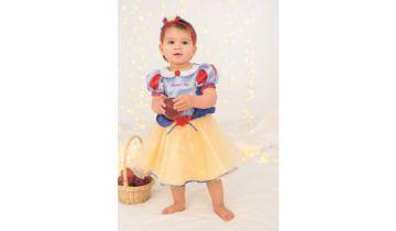 Snow White Disney Princess Dress With Bloomers And Headband