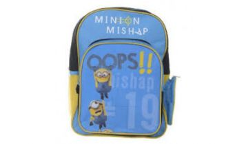 Despicable Me Minions Mishap Back Pack With Pockets