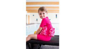 Konfidence Float Suit Fuchsia