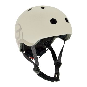 Scoot And Ride Kids Helmets Ash (S-M)