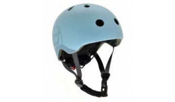 Scoot And Ride Kids Helmets Blue (S-M)