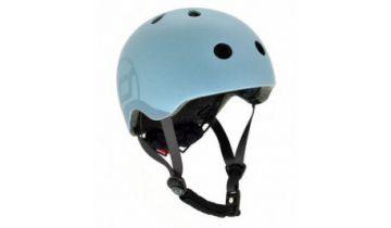 Scoot And Ride Kids Helmets Blue (XXS)