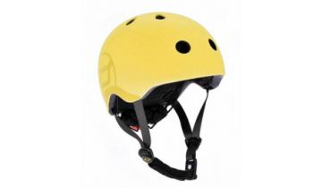 Scoot And Ride Kids Helmets Yellow (XXS)