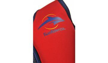 Konfidence Swimming Jacket Red/Yellow