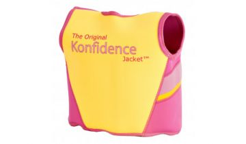 Konfidence Swimming Jacket Fuchsia