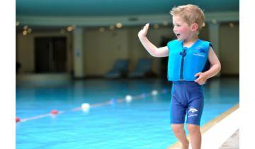 Konfidence Swimming Jacket Nautical Blue