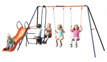 Hedstrom Europa Multiplay Swing And Slide