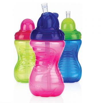 Nuby Flip-It Beaker Assorted Colours