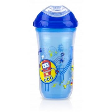 Nuby Toddler Sipeez Insulated Spout Cup 270ml Blue