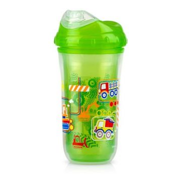 Nuby Toddler Sipeez Insulated Spout Cup 270ml Green