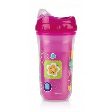 Nuby Toddler Sipeez Insulated Spout Cup 270ml Pink