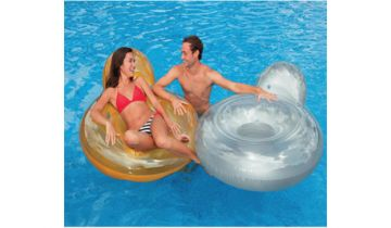 Pillow Back Inflatable Loungers