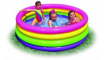 Sunset Glow Inflatable Paddling Pool
